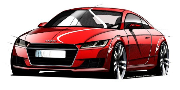 Audi TT 2015 : esquisses officielles