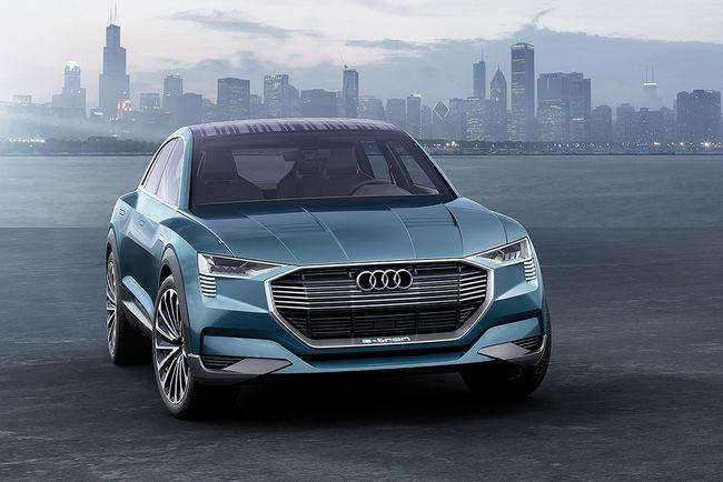 Des panneaux solaires sur les futures Audi