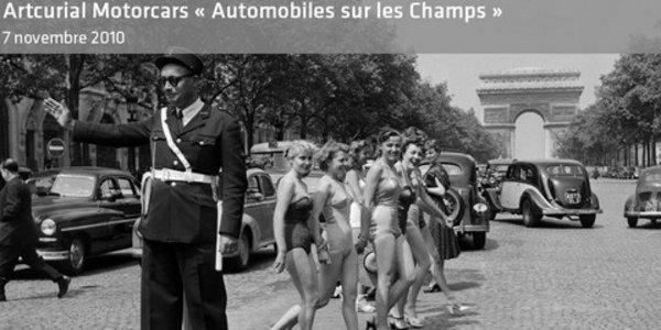 Artcurial : Automobiles sur les Champs