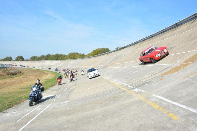 Beau succès pour l'Autodrome Italian Meeting