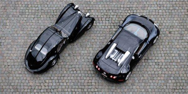 Autoworld fête Bugatti