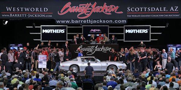 Résultat record pour Barrett-Jackson à Scottsdale