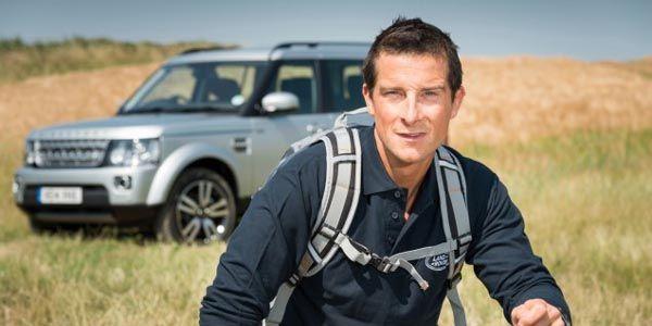 Bear Grylls devient ambassadeur Land Rover