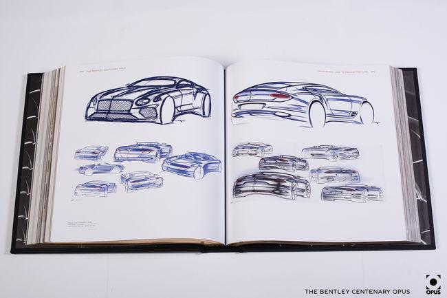 Beaux livres : Bentley Centenary Opus