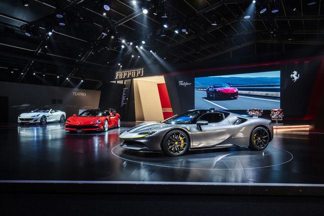 Beau succès pour l'exposition Universo Ferrari
