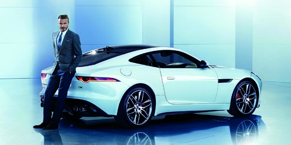 Beckham devient ambassadeur Jaguar