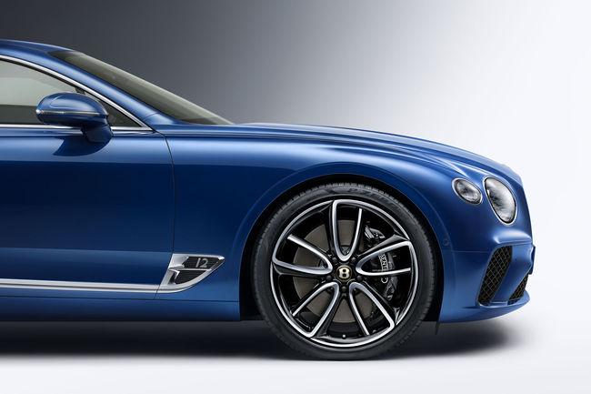 Une finition spécifique pour le centenaire de Bentley