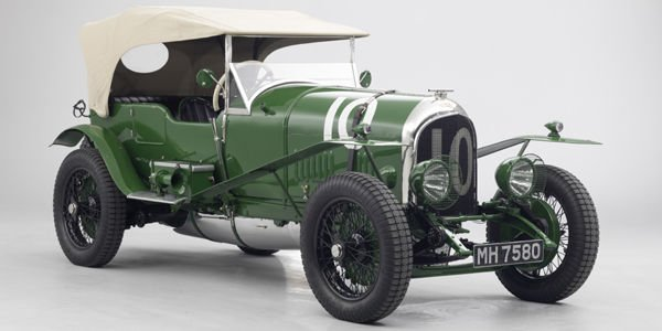 Une Bentley 3.0 LM de 1925 au London Classic Car Show