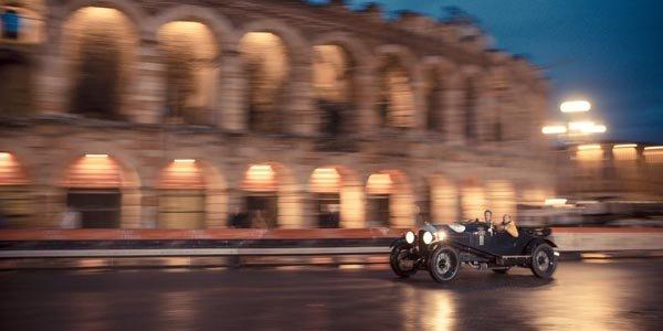 Deux Bentley Blower aux Mille Miglia