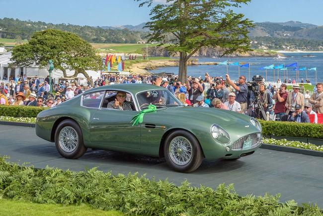 Une Bentley primée au Concours d'Élégance de Pebble Beach