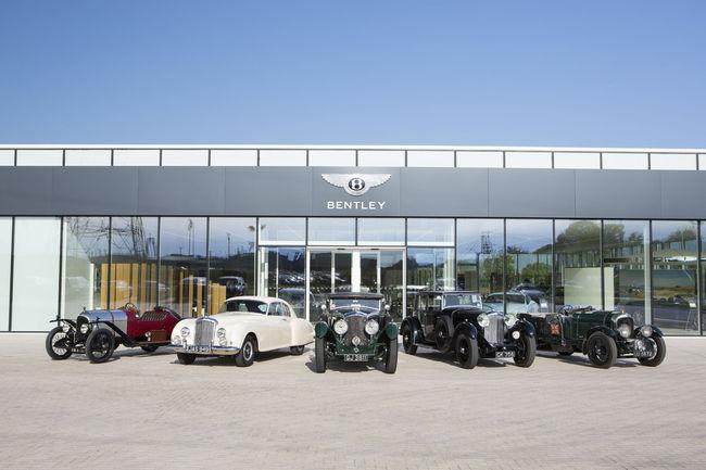 Bentley lance les festivités de son centenaire à Rétromobile