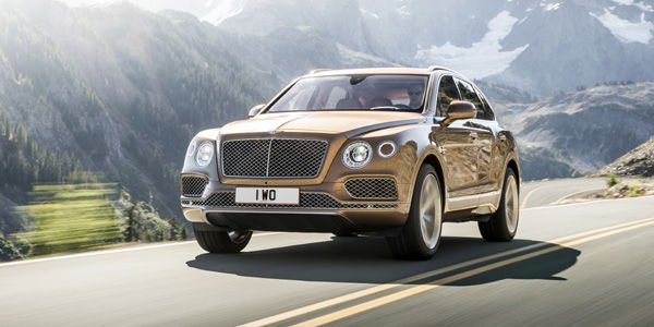 Bentley Bentayga : le voila