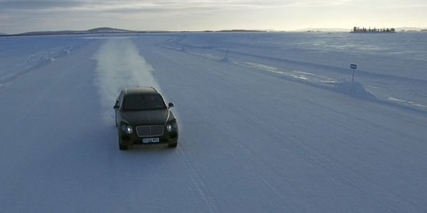 Le Bentley Bentayga au programme de Power on Ice 2016