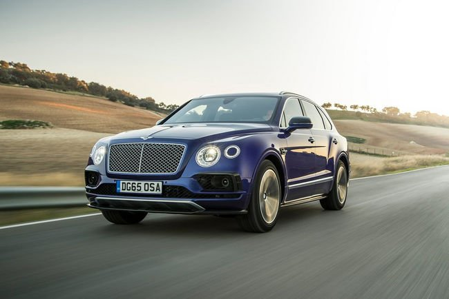 Une Apple Watch App pour le Bentley Bentayga