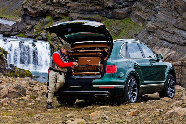 Bentley Bentayga Fly Fishing par Mulliner, pour faire mouche