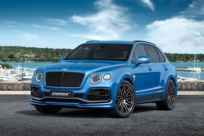 Startech s'attaque au Bentley Bentayga