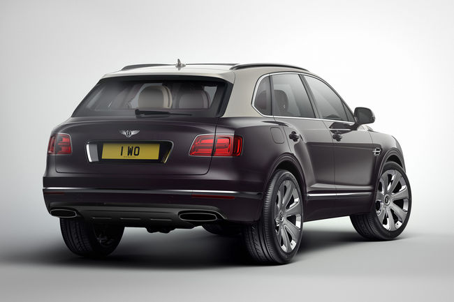 Bentley Bentayga Mulliner : grand luxe
