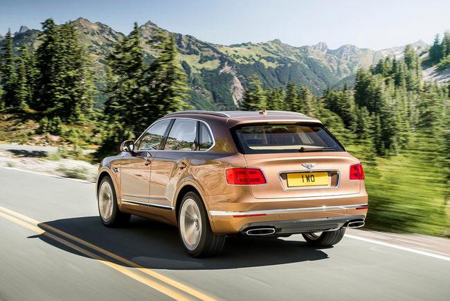 Nouvelles versions en vue pour le Bentley Bentayga