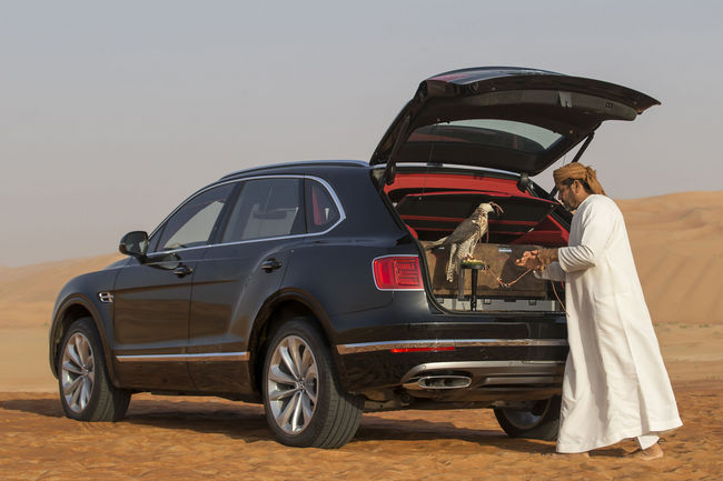 Bentley Bentayga Falconry par Mulliner