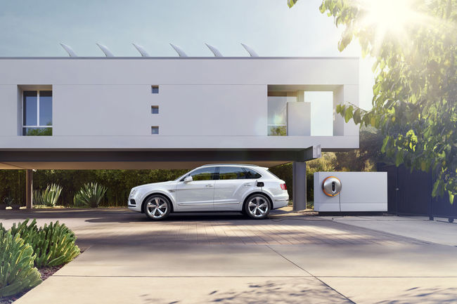 Genève : Bentley Bentayga Hybrid