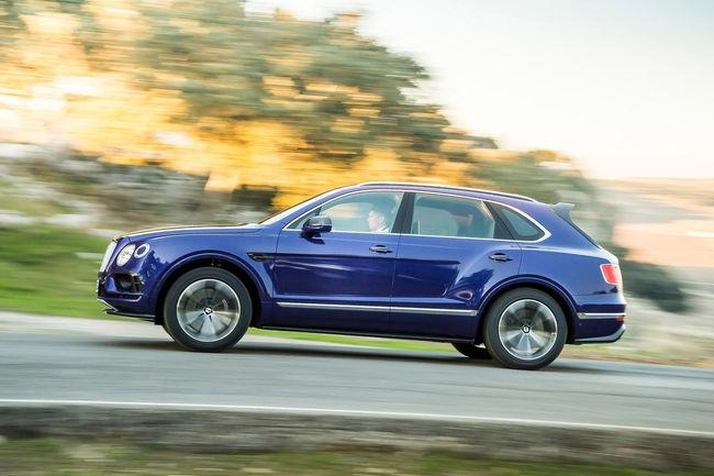 Un Bentley Bentayga Speed en approche ?