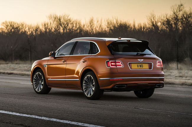 Bentley Bentayga Speed : le SUV de série le plus rapide au monde