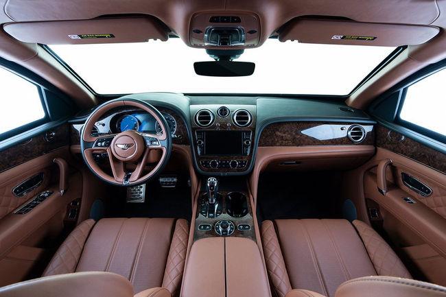 Inkas propose un blindage pour le Bentley Bentayga