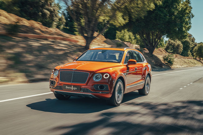 Bentley Bentayga Hybrid : production lancée