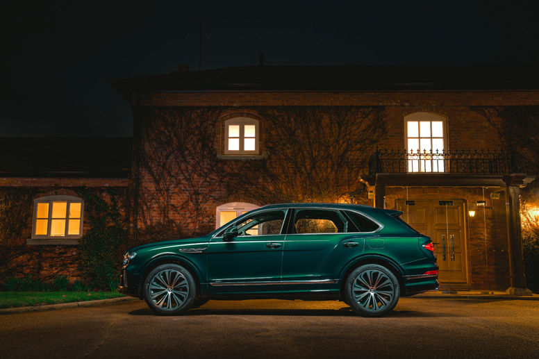Nouveau one-off Bentley Bentayga Hybrid