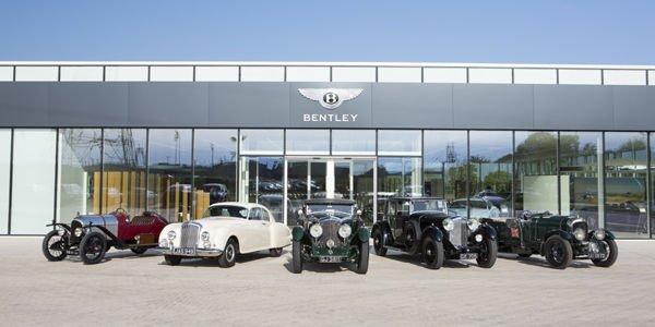 Programme estival chargé pour les Bentley historiques