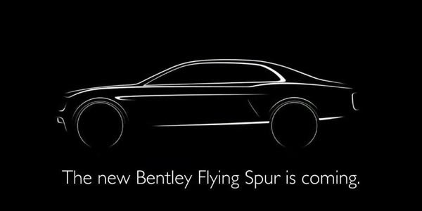 Bentley tease la nouvelle Flying Spur