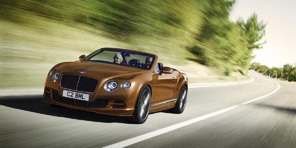 Genève 2014 : Bentley refait ses gammes
