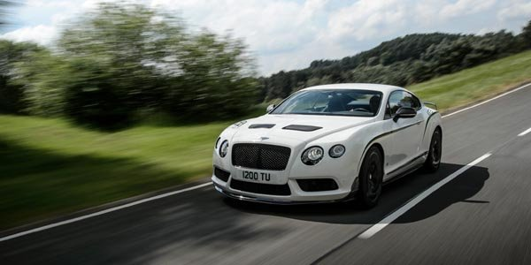 Bentley Continental GT3-R : inspirée de la compétition