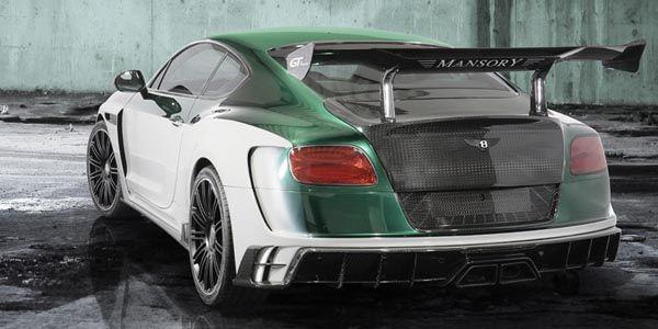 Mansory GT Race : 1 001 ch sous le capot