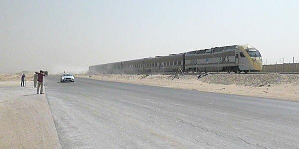 Course insolite dans le désert saoudien pour Bentley