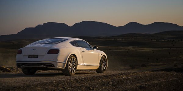 La Continental GT Speed lancée à 331 km/h