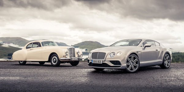Bentley Continental : 63 ans d'histoire
