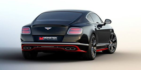 Bentley Continental GT V8 S Monster by Mulliner