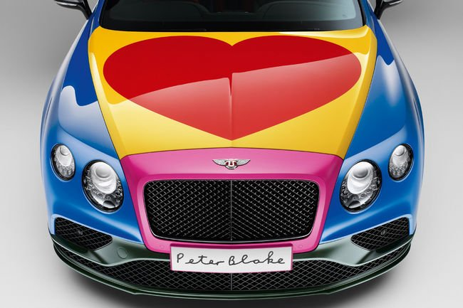Une Bentley Continental GT V8 S Pop art aux enchères