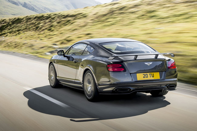 Nouvelle Bentley Continental Supersports