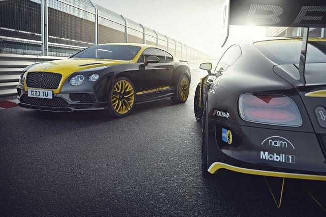 Bentley Continental 24 : inspirée de la course