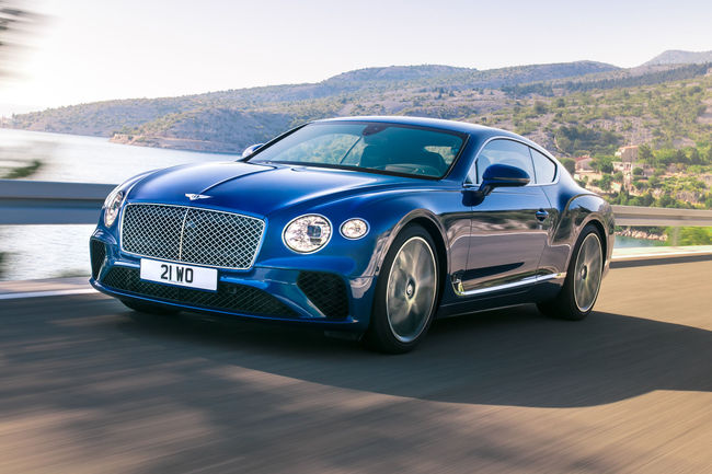 Bentley et l'interface Bang & Olufsen BeoSonic