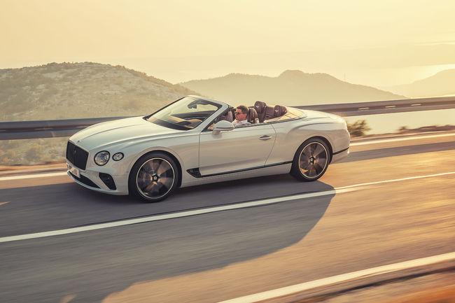 La Bentley Continental GT enlève le haut