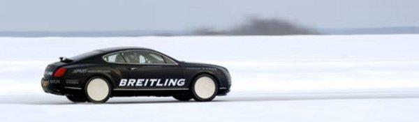 Un record givré pour la Continental GT