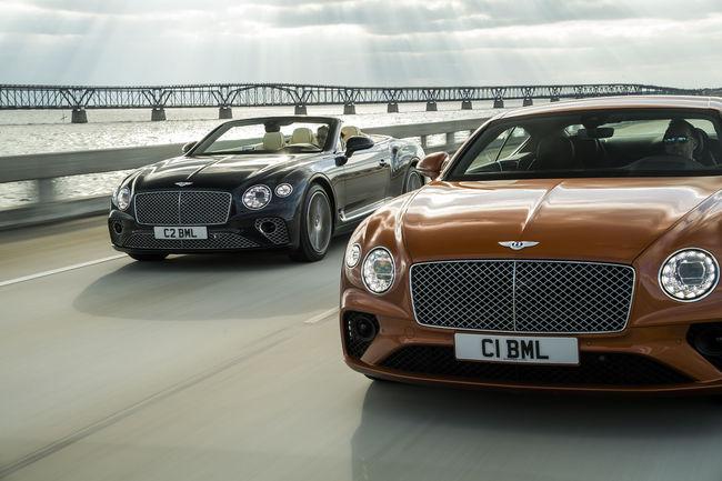 Nouvelles Bentley Continental GT V8 et GT V8 Cabriolet
