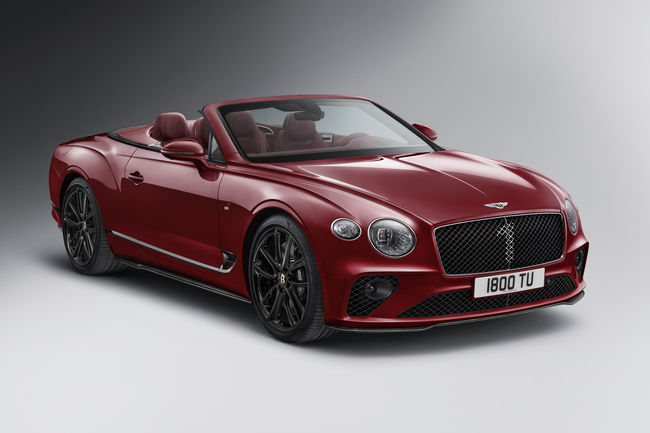 Bentley Continental GT Cabriolet Number 1 Edition by Mulliner
