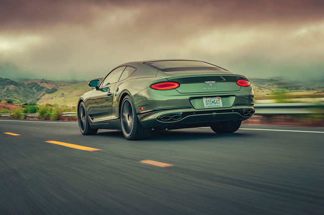 Des nouveautés pour la Bentley Continental GT