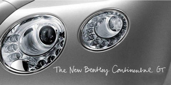Nouvelle Bentley Continental GT