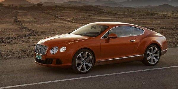 La Bentley Continental GT V8 retardée