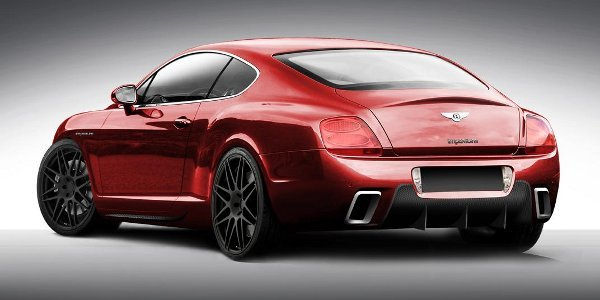 Imperium revisite la Bentley Conti GT